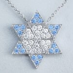 Ni-Star pendant Blue & White
