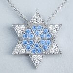 Ni-Star pendant White & Blue